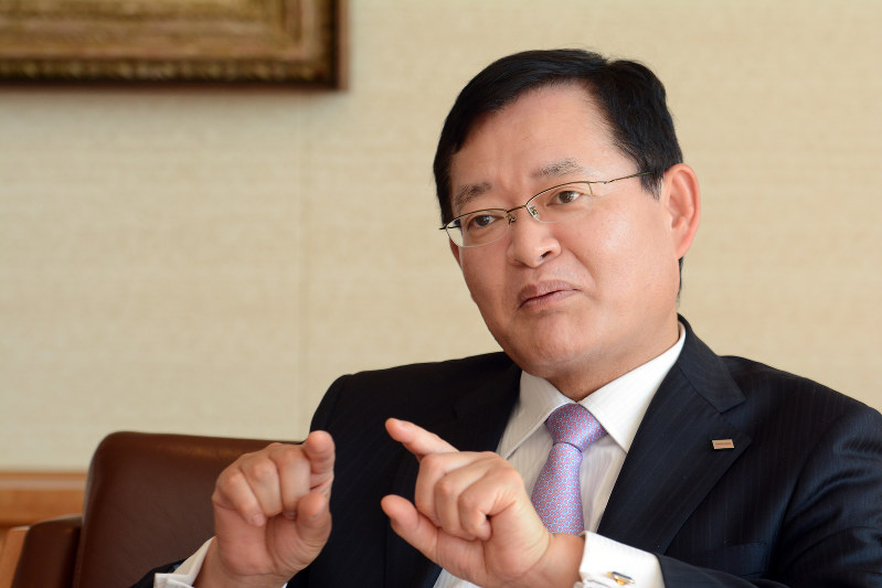 車谷暢昭 東芝会長CEO(最高経営責任者)
