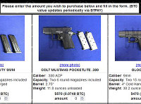 「闇市場」では拳銃も販売されている