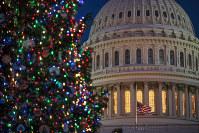 The Capitol is seen at twilight in Washington, on Dec. 17, 2018. (AP Photo/J. Scott Applewhite)