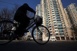 北京の住宅価格は頭打ち Bloomberg