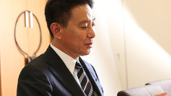 前原誠司氏=太田康男撮影