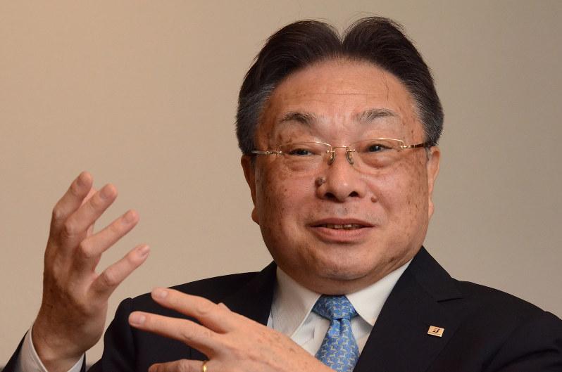 津谷正明 ブリヂストン最高経営責任者(CEO)兼会長