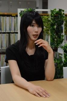ト沢彩子さん 1987年生まれ。強制わいせつや集団痴漢など度重なる被害に遭い、2009年に実名で被害を公表。NPO法人での支援・啓発活動を経て、16年に「A-live connect」を設立し、若者の支援に取り組んでいる。