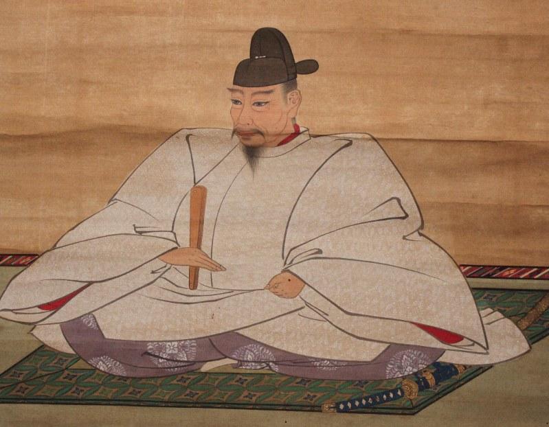 豊臣秀吉像=長浜八幡宮(滋賀県長浜市)蔵
