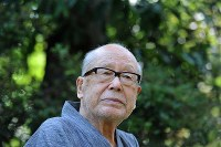 金子兜太さん(俳人)=2014年、内藤絵美撮影