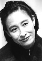 江波杏子さん(女優)=1992年撮影