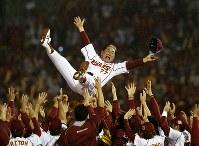 星野仙一さん(元プロ野球中日投手、中日・阪神・楽天元監督)=2013年、小出洋平撮影