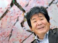 高畑勲さん(アニメーション監督)=2013年、竹内幹撮影