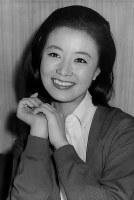 星由里子さん(女優)=1967年撮影