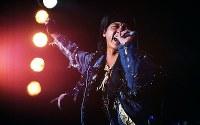 西城秀樹さん(歌手)=1991年撮影