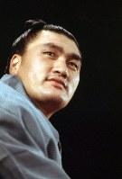 輪島博さん(大相撲第54代横綱・輪島大士、元プロレスラー)=1974年撮影