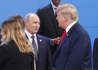 Putin tells Trump in New Year's letter he's open to meeting - The