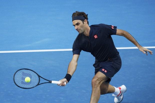 Tennis Roger Federer Enjoys Impressive Start To New Season The Mainichi