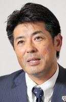 新年への抱負を語る野球日本代表の稲葉篤紀監督=東京都港区で2018年12月19日、長谷川直亮撮影