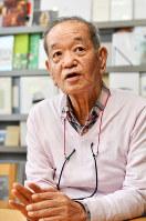 築山敬志朗さん=大阪市中央区で2018年3月13日、川平愛撮影