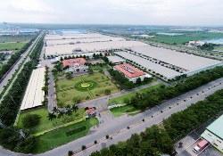 「天虹紡織」のベトナム南部の工場(同社提供)