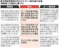 東京地検特捜部の見立てとゴーン前会長の主張