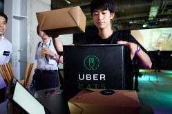 副業する人は日本でも増えている(Uberのウーバーイーツ)