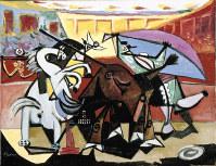 パブロ・ピカソ「闘牛」 1934年 Acquired 1937 フィリップス・コレクション蔵 The Phillips Collection, Washington, D.C.=(C)2019- Succession Pablo Picasso - BCF(JAPAN)