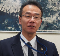 豪雨当日を振り返る広島市消防局の中山義隆通信指令官