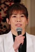 引退の記者会見に臨むレスリング女子の吉田沙保里さん=東京都内のホテルで2019年1月10日午後2時2分、長谷川直亮撮影