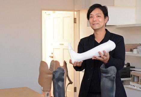 徳島泰 インスタリム代表 3Dプリンター製の義足を新興国に