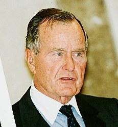 ジョージ・ハーバート(H)・ウォーカー(W)・ブッシュ氏 94歳=元米大統領(11月30日死去)