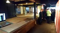 オープンした生家記念館の内部=熊本県和水町で2019年1月11日午前9時19分、中里顕撮影