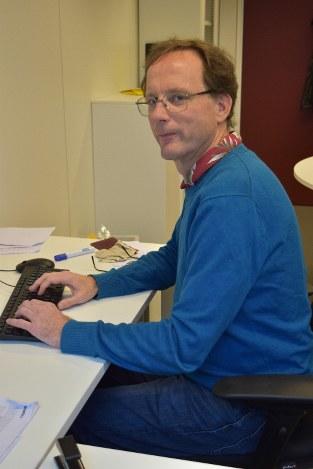 英国のEU離脱決定後に英ブリストル大学からベルギーのルーベン・カトリック大学へ移籍したナイジェル・スマート教授=ルーベンで2018年12月19日、八田浩輔撮影