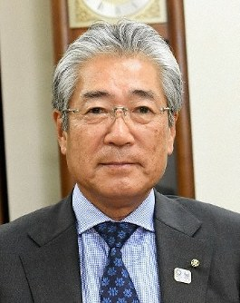 Tsunekazu Takeda, president of the Japanese Olympic Committee, is pictured at the committee's headquarters in Tokyo's Shibuya Ward in this May 23, 2018 file photo. (Mainichi)