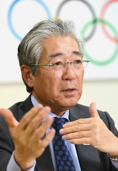 JOC President Tsunekazu Takeda (Mainichi)