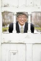 中西寛・京都大教授=京都市左京区で2016年3月14日、小松雄介撮影