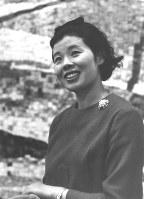 市原悦子さん=1966年撮影