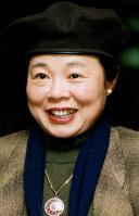 市原悦子さん=1996年撮影