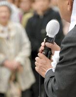 自民党は地方議員年金を「復活」させる法案を再検討する(写真と本文は関係ありません)=山田尚弘撮影