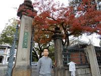 「自殺の問題をさらに掘り下げていきたい」と話す野呂靖さん=京都市下京区の龍谷大で、玉木達也撮影