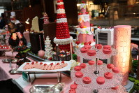 The dessert table for the