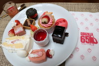 The desserts from the