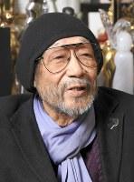 毎日芸術賞特別賞を受賞した映画監督の大林宣彦さん=根岸基弘撮影