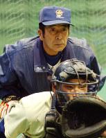 山下智茂 /星稜を甲子園に春夏計25回導き、95年夏に準優勝。松井秀喜(元ヤンキース)らを育てた=2005年2月5日、関口純撮影