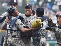 第87回大会・敦賀気比=2015年4月1日、西本勝撮影