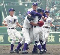 第69回大会・天理=1997年4月9日、金子裕次郎撮影