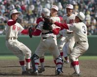 第66回大会・智弁和歌山=1994年4月4日、野田武撮影