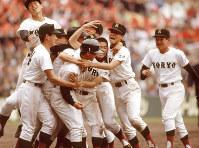 第63回大会・広陵=1991年4月5日撮影