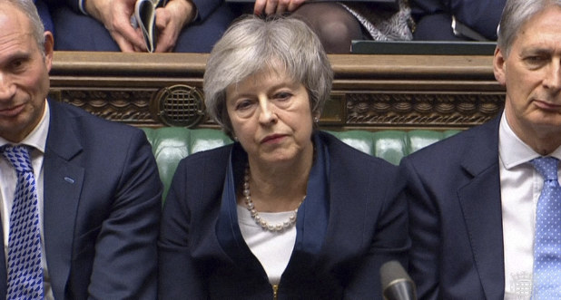 Uk Parliament Overwhelmingly Rejects May S Brexit Deal The Mainichi