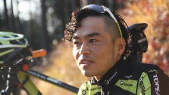 MTBプロライダーの池田祐樹さん=2018年12月25日撮影