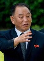 金英哲朝鮮労働党副委員長=AP