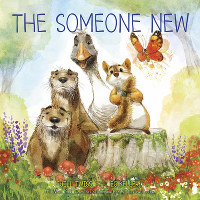 This cover image released by HarperCollins Children's Books shows 'The Someone New', a parable about welcoming outsiders, by Jill Twiss and illustrator EG Keller, scheduled for release on June 4. (HarperCollins Children's Books via AP)
