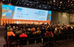 多彩な顔ぶれ約1600人が参加した国際腐敗防止会議=コペンハーゲンで筆者撮影
