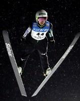 【ノルディックスキー・W杯ジャンプ女子】1回目の飛躍をする高梨=山形市のクラレ蔵王シャンツェで2019年1月18日、喜屋武真之介撮影